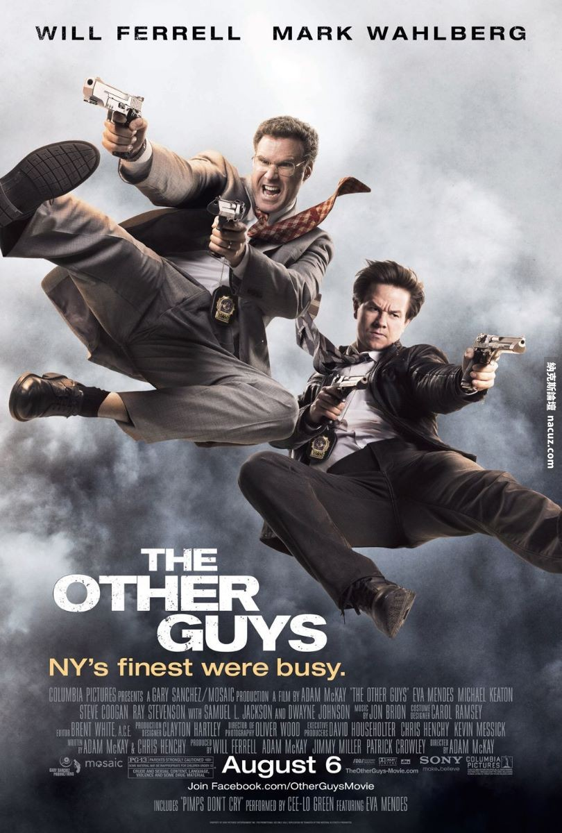 B咖戰警 / The Other Guys【AVI@藍光Blu-Ray@內嵌繁中@2.32GB 】 - 納克斯論壇 - Nacuz.com - The_Other_Guys-poster.jpg